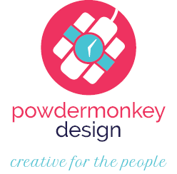 Powdermonkey Design logo